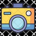 Camera Lens Photo Icon