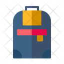Camera Backpack Icon