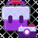 Camera Bag Portfolio Business Bag Icon