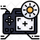 Camera Brightness Icon