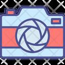 Camera Diaphragm Camera Lens Optical Lens Icon