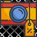 Camera Discount Camera Photo Icon