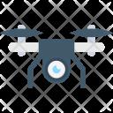 Camera Drone Security Icon