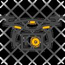 Camera Drone Drone Camera Icon