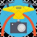 Camera Drone Aerial Icon
