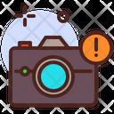 Camera Error Icon