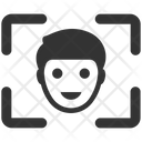 Detection Face Interface Icon