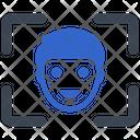 Camera Face Detection Icon