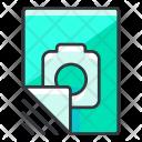 Camera File Document Icon