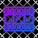 Outline Gradient Color Icon