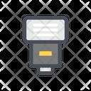 Camera Flash Light Icon