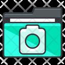 Camera Folder Image Icon