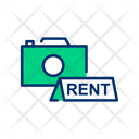 Camera for rent Icon