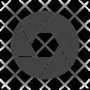 Camera Lens Aperture Icon