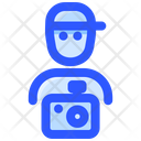 Film Camera Man Shooter Icon