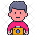 Camera Man Icon