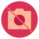 Camera Prohibition Prohibition Not Allowed Icon