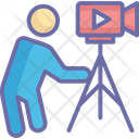 Camera Operator Cameraman Filmmaking Icon