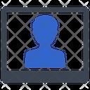 Passport Photo User Icon