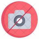 Camera Prohibited Restricted Camera Ban Icon