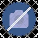 Camera Prohibition Icon