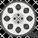 Camera Reel Film Strip Reel Strip Icon