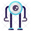 Camera Robot Single Eyed Robot One Eyed Robot Icon