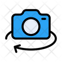 Rotate Camera Photography Icon