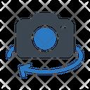 Rotate Camera Photography Icon