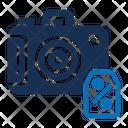 Camera Sale Cyber Monday Discount Icon