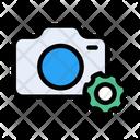 Camera Setting Dslr Icon