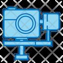 Camera Stabilizer Camera Holder Icon