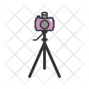 Camera Stand Equipment Icon