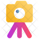Camera Photography Stand Icon