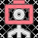 Camera Stand Tripod Camera Icon