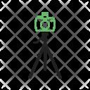 Camera Stand Equipment Icon