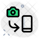 Camera To Phone Picture Transfer File Transfer Icon