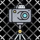 Camera Tripod Icon