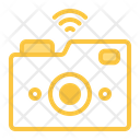 Camera Laptop Wifi Icon
