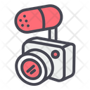 Camera with microphone Icon
