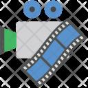 Camera Reel Audiovisual Icon
