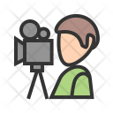 Camera Man Avatar Icon