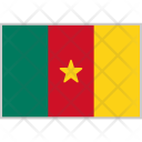 Cameroon Flag Country Icon