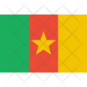 Cameroon Flag World Icon