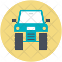 Camo Car Quad Icon