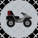 Camo Bike Quad Icon