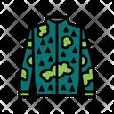 Camouflage Jacket Icon