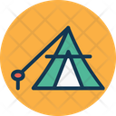 Camp Camping Camping Tent Icon