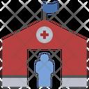Camp Asylum Refugee Icon