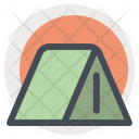 Camp Tent House Icon